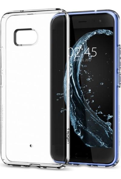 Spigen HTC U11 Kılıf Liquid Crystal 4 Tarafı Tam Koruma - H11CS21939