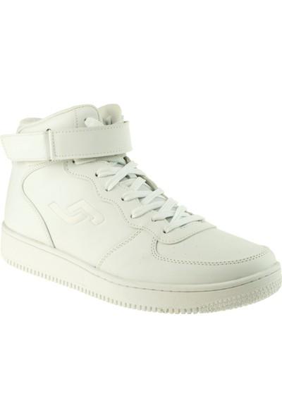 Jump 16309 Fashion Beyaz Erkek Spor Ayakkabı