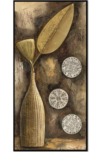 Özverler Dekoratif Çerçeveli Tablo (1) 30x60cm
