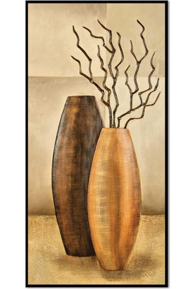 Özverler Dekoratif Çerçeveli Tablo (3) 30x60cm