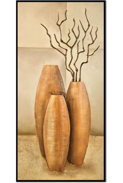 Özverler Dekoratif Çerçeveli Tablo (4) 30x60cm