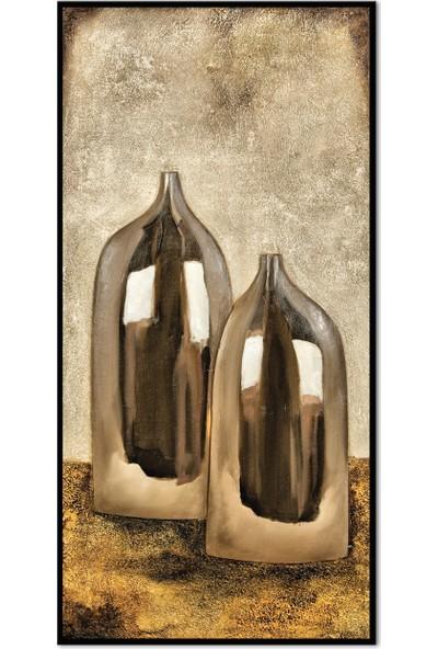 Özverler Dekoratif Çerçeveli Tablo (5) 30x60cm