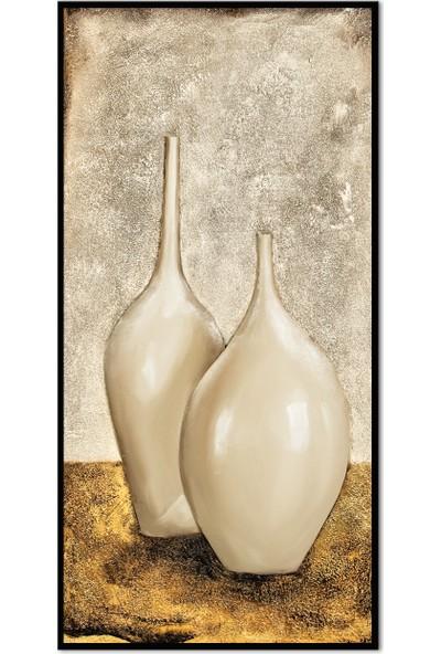 Özverler Dekoratif Çerçeveli Tablo (6) 30x60cm