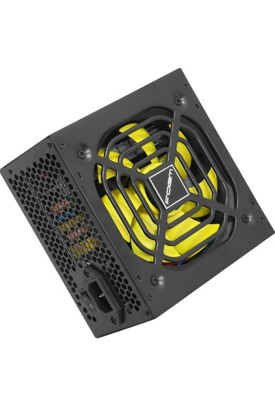 Frisby FOEM FPS-G60F12B 600W Power Supply (Aktif PFC, 12cm Fan)