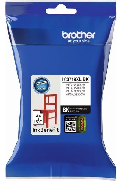 BROTHER LC3719XLBK Siyah Mürekkep Kartuş (3000 Sayfa)