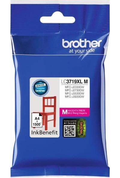 Brother Mfc-J3930Dw Kırmızı 3000 Sayfa Lc3719Xlm