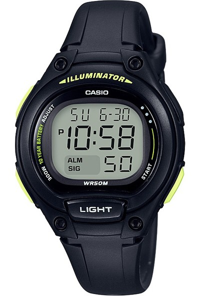 Casio LW-203-1BVDF Digital Kadın Kol Saati