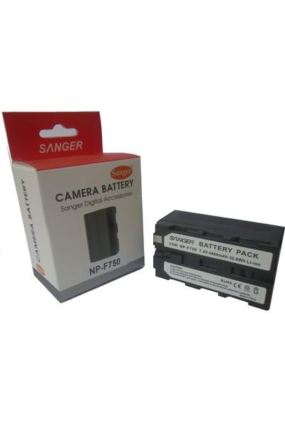 Sanger Np-F750 Sony kamera Bataryası, Mc2500 bataryası, Mc2000 Bataryası, Mc1500 bataryası, Hd1000 Bataryası, Kamera Işık Bataryası