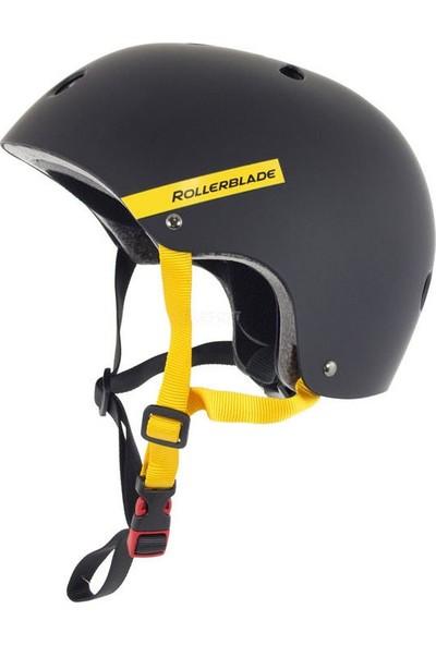 Rollerblade Downtown Black Yellow Paten Kaskı