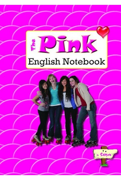 Pink English Notebook