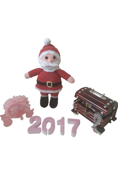 MyYumak Amigurumi Noel Baba-Orta