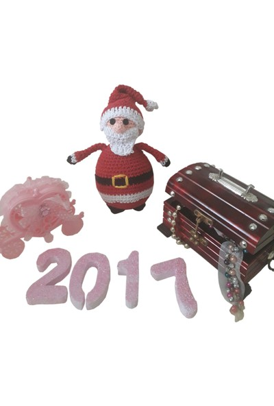 MyYumak Amigurumi Noel Baba-Küçük