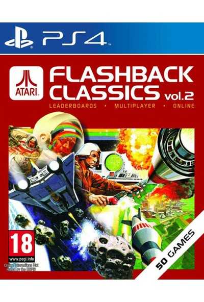Atarı Flashback Classics Vol.2 Ps4 Oyun