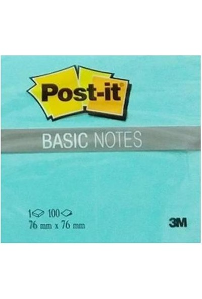 Post-İt Basıc Notes 76X76