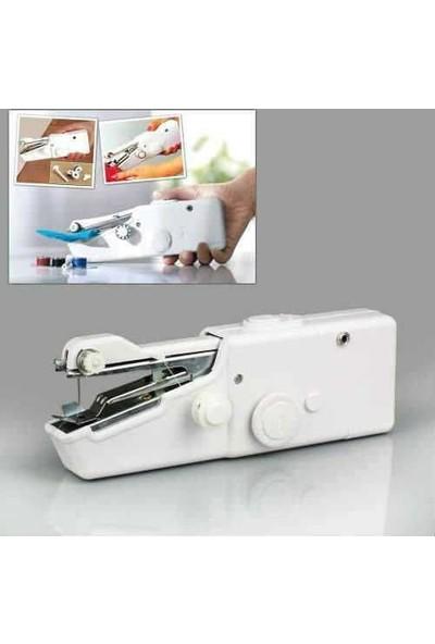 Takıvemoda Handy Stitch Pilli El Dikiş Makinesi Pratik Seyyar Seyahat Dikiş Makinesı