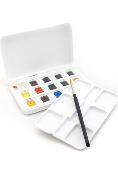 Talens Van Gogh Suluboya Seti 12+3 Renk (Fırça Hediyeli)