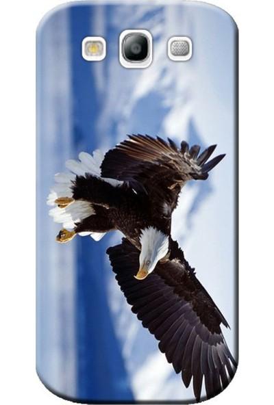 Kılıf Merkezi Samsung Galaxy Core Prime Kartal Baskılı Silikon Kılıf