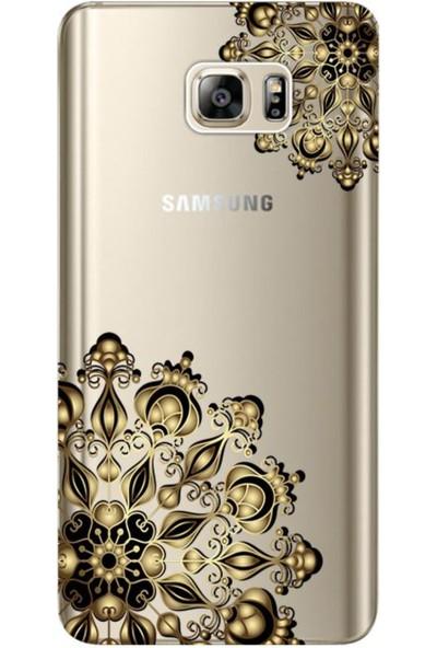 Kılıf Merkezi Samsung Galaxy Note 5 Tasarım Baskılı Silikon Kılıf