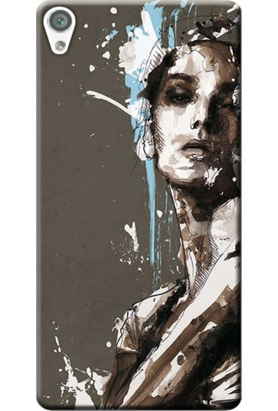 Kılıf Merkezi Sony Xperia X F5121 Women Baskılı Silikon Kılıf
