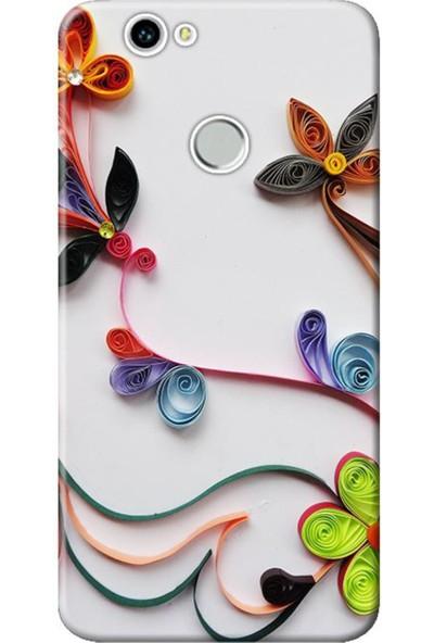 Kılıf Merkezi Huawei Nova Çiçek Desen Baskılı Silikon Kılıf