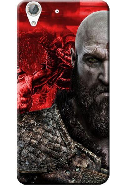Kılıf Merkezi Huawei Y6 2 (Y6 Iı) Kratos God Baskılı Silikon Kılıf