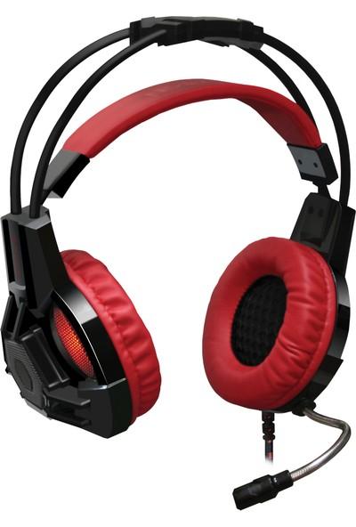 Redragon Lester Oyuncu Kulaklık Kırmızı/Siyah