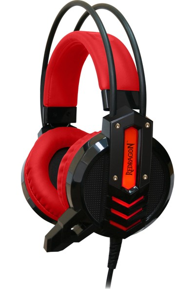 Redragon Chronos Oyuncu Kulaklık Kırmızı/Siyah