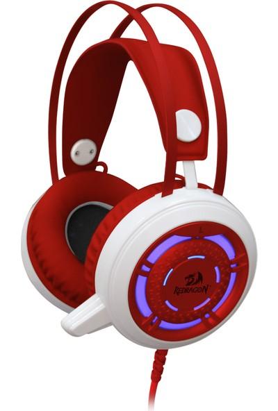 Redragon Sapphire Oyuncu Kulaklık Kırmızı/Beyaz