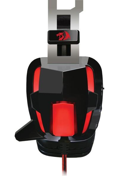 Redragon Lagopasmutus (Vibro) Oyuncu Kulaklık Kırmızı/Siyah