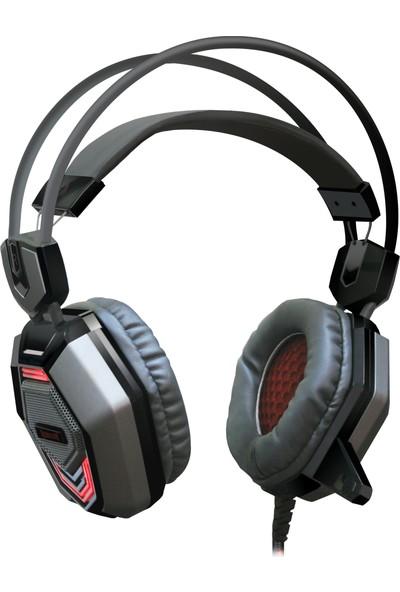 Redragon Placet Oyuncu Kulaklık Kırmızı/Gri
