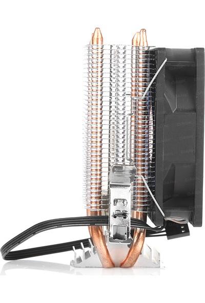 Dark Freezer X92BL Intel 775/1156/1155/1150/1151 FM1/FM2/AM2+/AM3+ /AM4 Ryzen Uyumlu işlemci Soğutucu (DKCCX92BL)