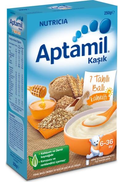 Aptamil Kahvaltı 7 Tahıllı Ballı Tahıl Bazlı Kaşık Maması 200 gr