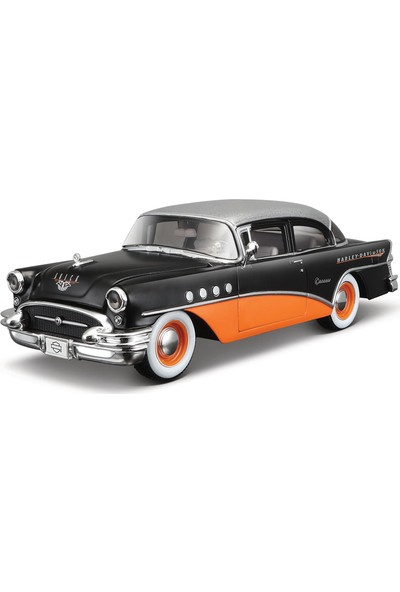 Maisto 1:26 Hd 1955 Buick Century Model Araba