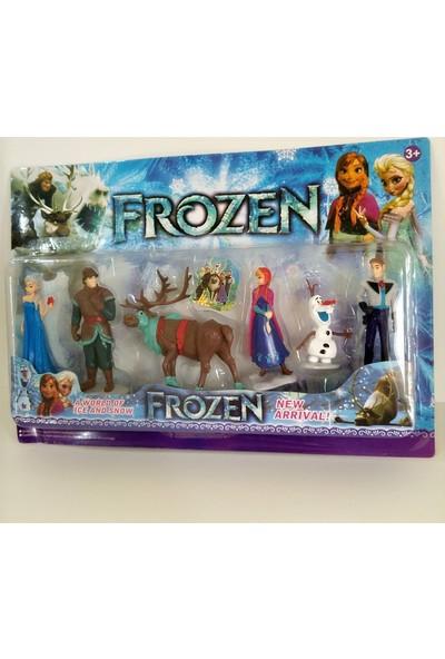 Hdm Frozen Oyuncak Karlar Ülkesi Elsa Anna Bebek Olaf 6 Adet MRYTRA