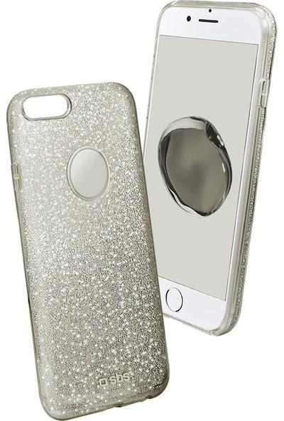 SBS iPhone 7 Plus Gümüş Kılıf
