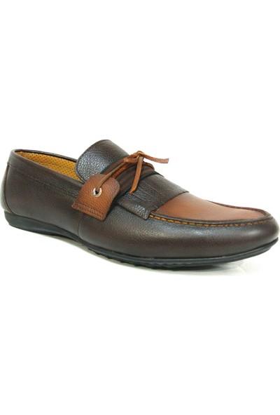 Projack 1100 Kahverengi Taba Bağcıksız Casual Erkek Ayakkabı