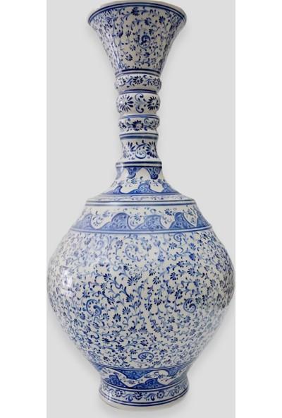 Old City Seramik 45 cm Çini Vazo