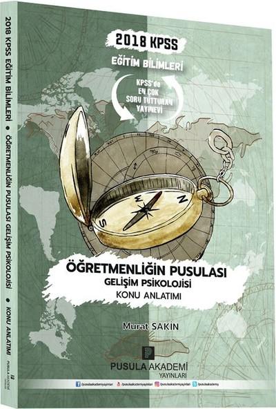 Pusula Akademi Yayınları Kpss Öğretmenliğin Pusulası Gelişim Psikolojisi Konu Anlatımı 2018