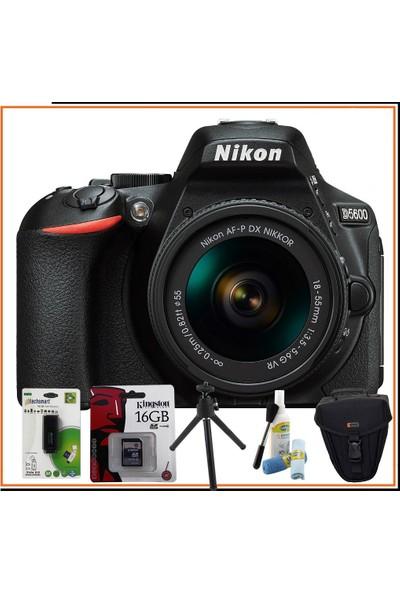 Nikon D5600 Af-P 18-55 Vr Lens Mega Kit