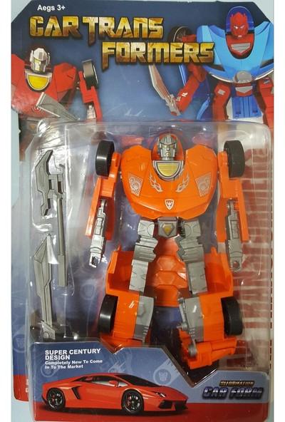 Fonnava Car Transformers Robot Oyuncak Araba 15 Cm