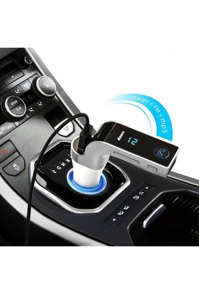 Fonnava Carg7 Bluetooth Araç Kiti Fm Transmitter (Usb Microsd)