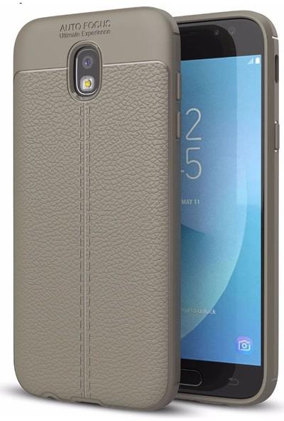 Case 4U Samsung Galaxy J730 Kılıf Darbeye Dayanıklı Niss Kahverengi*