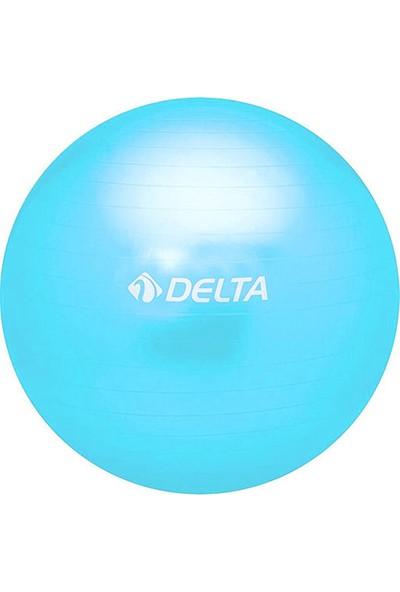 Delta Mavi 25 cm Mini Pilates Topu (renkli kutu)
