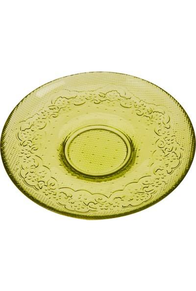 Karaca Dolce Çay Tabağı Yeşil