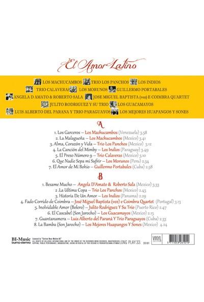 El Amor Latino - Plak