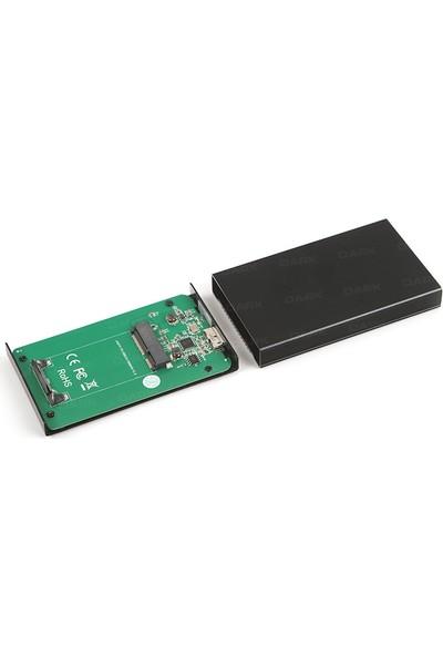 Dark MSATA SSD Destekli USB 3.0 Disk Kutusu (DK-AC-DSEMSATA)