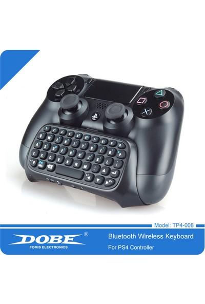 Playaks Dobe Ps4 Kolu İçin Mini Kablosuz Bluetooth Klavye