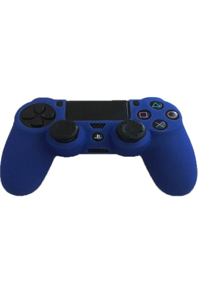 Playaks Ps4, Ps4 Slim,Pro Dualshock 4 Silikon Kol Kılıf Ps4 Kol Kılıfı Mavi