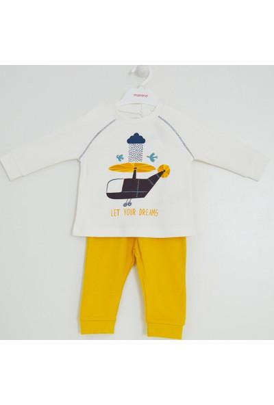 Mamino 9206 Bebek Pijama Takımı