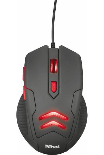 Trust 21963 Ziva 3000 DPI Gaming Oyuncu Mouse ve Mousepad Set